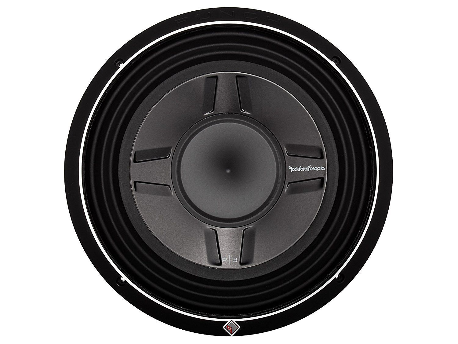 Rockford Fosgate P3SD4-12 P3 Punch Shallow Mount 12-Inch DVC 4-Ohm ...