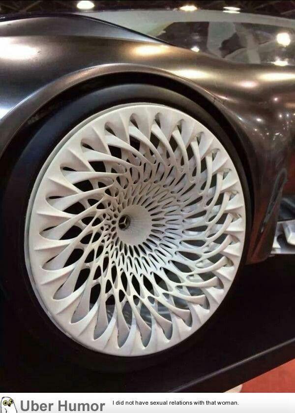 3D printed rims