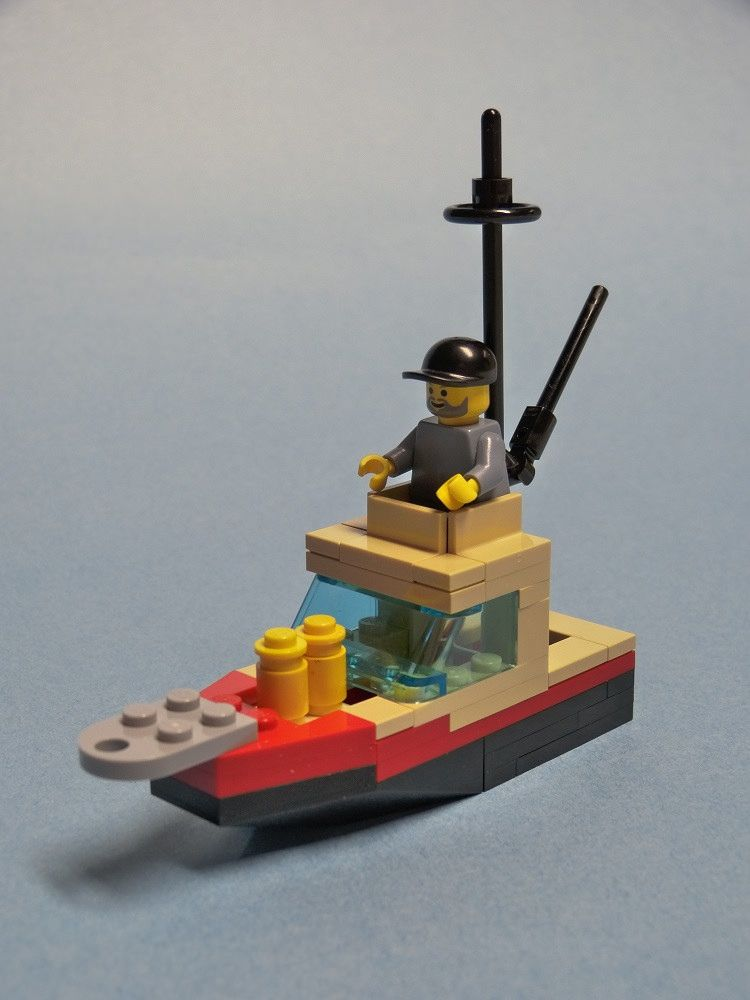 how to build a lego shipwreck