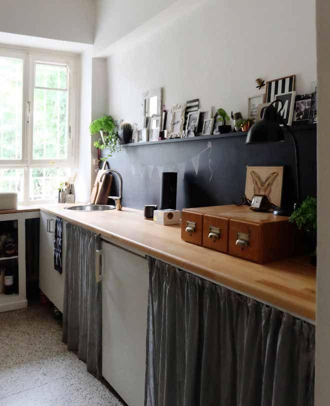 Die Reversible Küchenrückwand | Lösung Für Hässliche Fliesenspiegel In Der  Mietwohnung [DIY] Minza Will Sommer