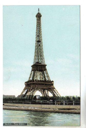 Tour Eiffel Paris Photo Postcard C1903 Tower
