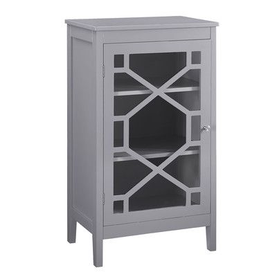 Fetti 1 Door Accent Cabinet Small China Cabinet Small Cabinet Accent Cabinet