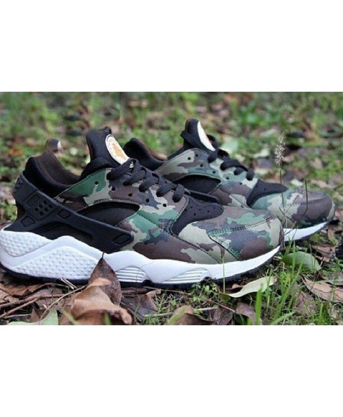 991d8221155c4 Nike Air Huarache Black Camo Trainer Camouflage style