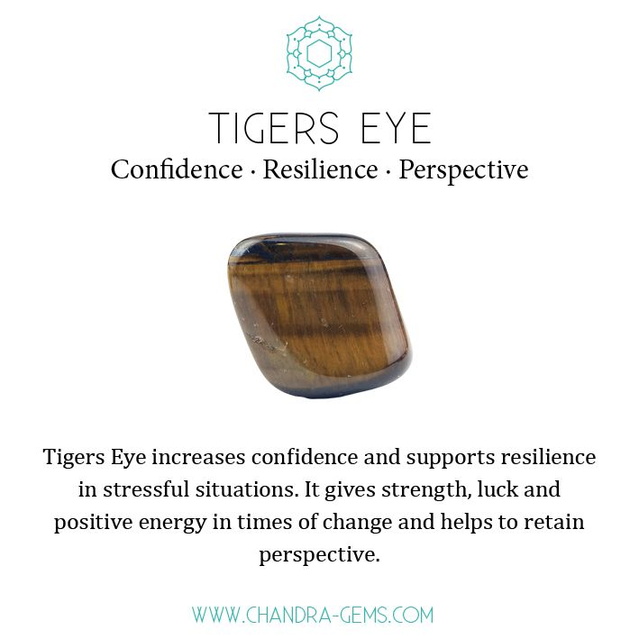 Tigers Eye healing properties: confidence, resilience and perspective. #crystalhealing