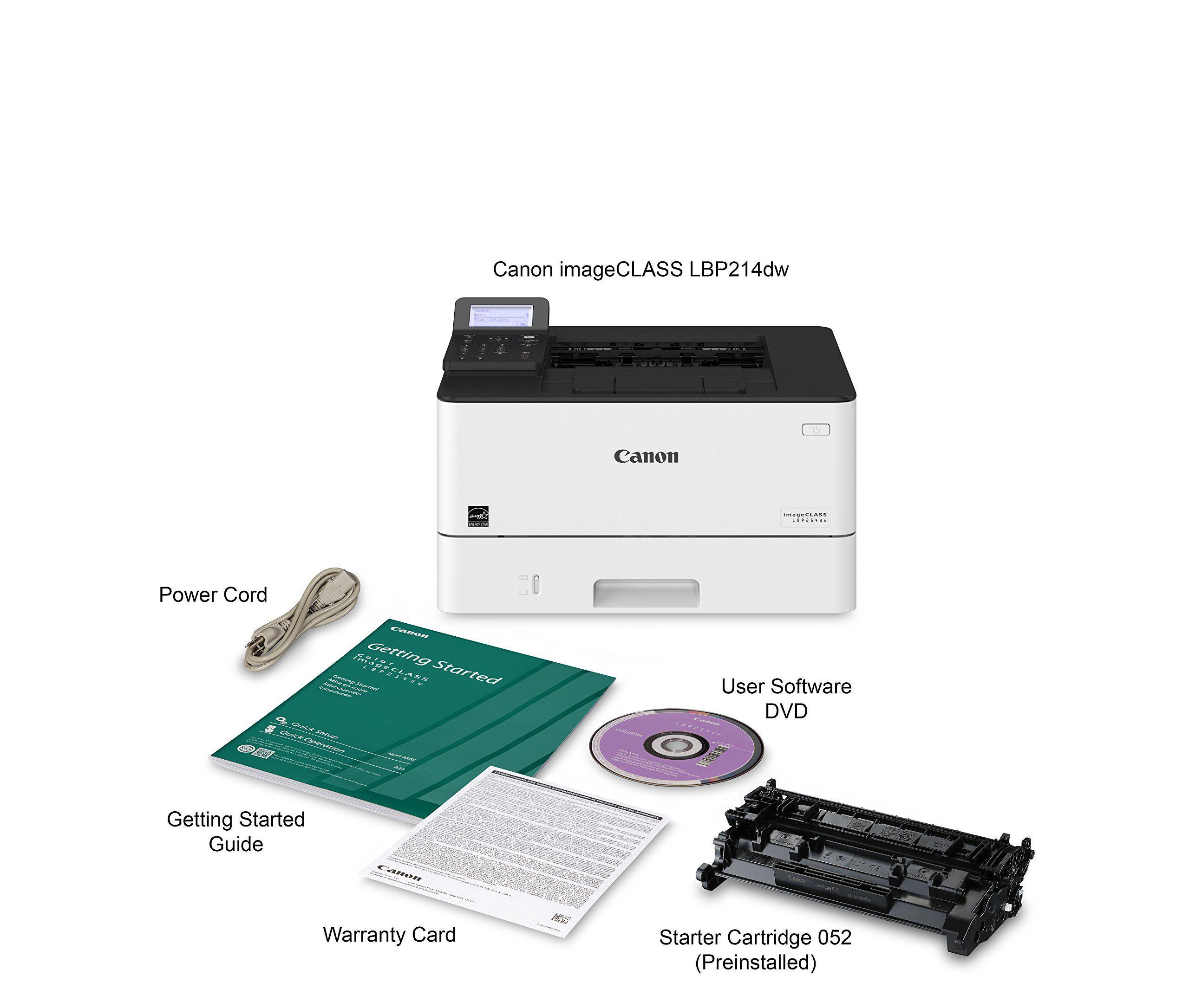 Canon imageclass lbp214dw monochrome laser printer more
