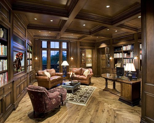 Perfect Home Office   Traditional   Home Office   Phoenix   By R.J. Gurley Custom  Homes