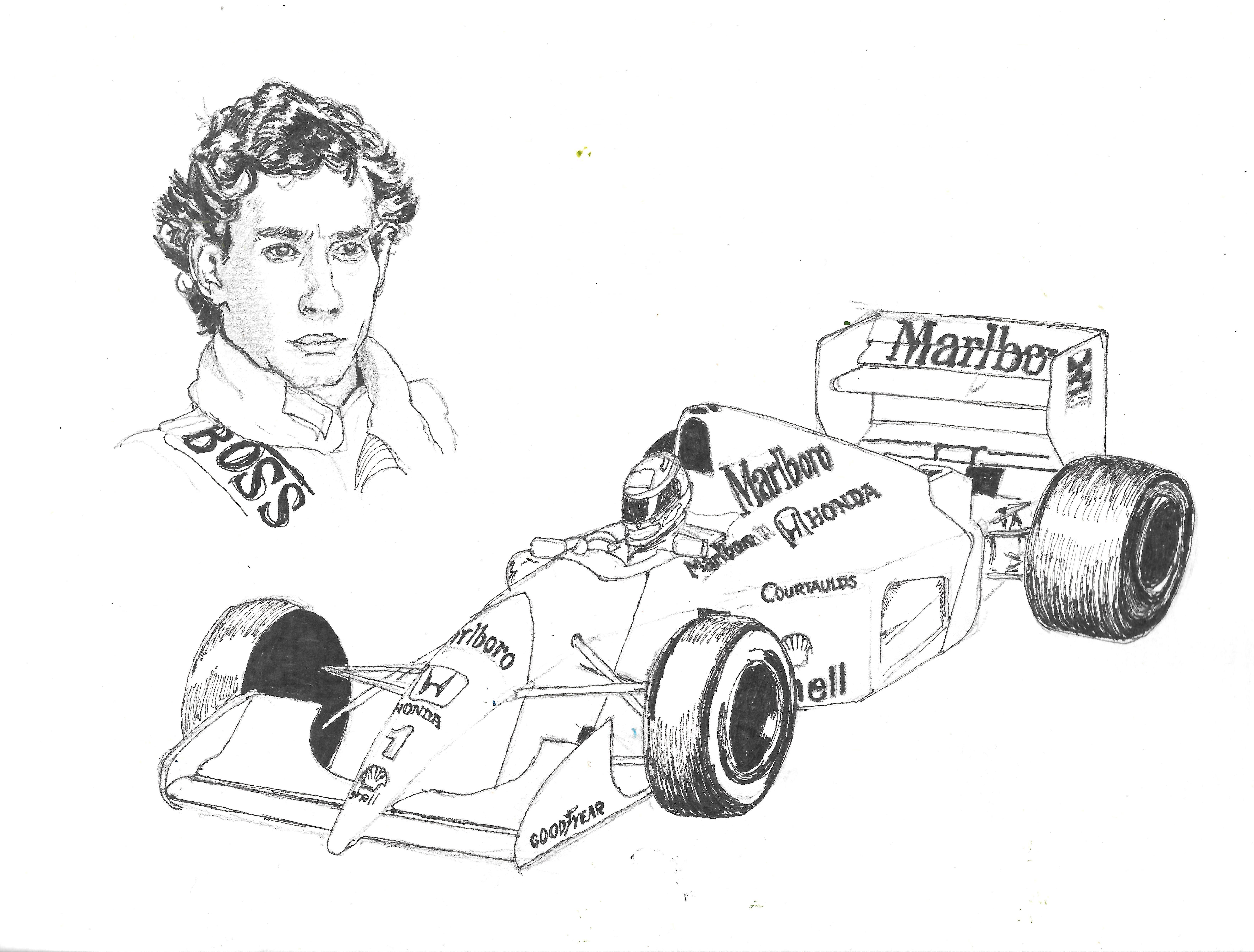 Ayrton Senna And Marlboro Mclaren Ayrton Senna Ayrton Car And Driver