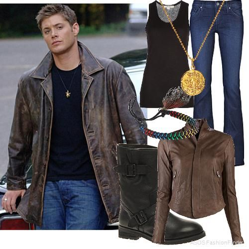 Dean+Winchester+|+Women's+Outfit> I'd wear this. lol ...