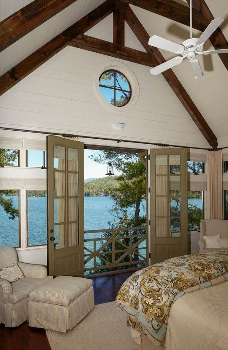 45 Fabulous Ideas For Lake House Decorations Master Bedrooms