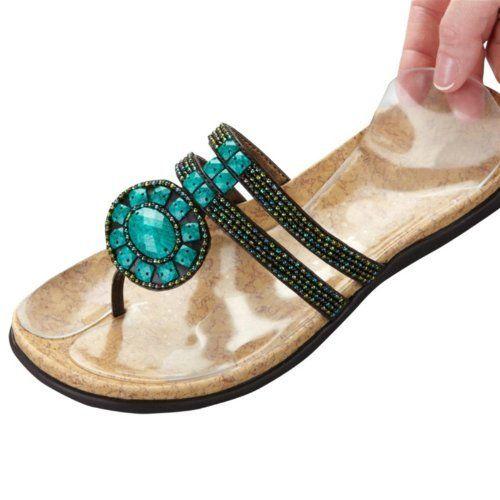 Gel Thong Sandal Insoles By Polygel 14 99 Gel Thong