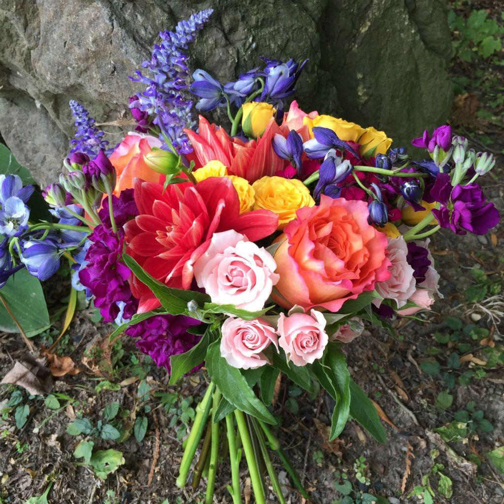 Summer Flowers For Vermont Wedding, Vermont Wedding