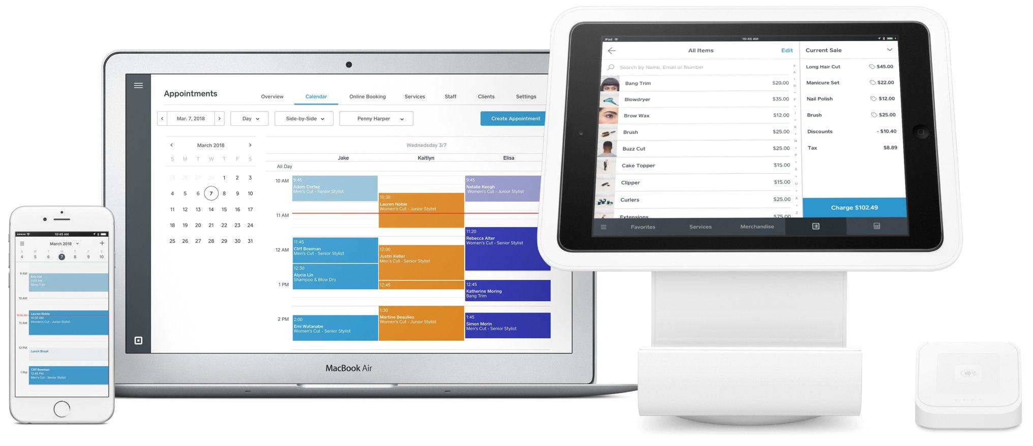 Free Appointment Scheduling Software And Booking App Square