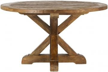 Cane Round Dining Table Solid Wood Dining Table Round Dining