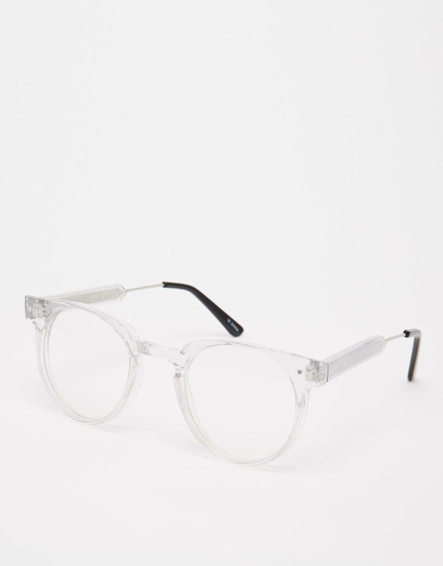 954802fa7e Image 1 of Spitfire Clear Glasses