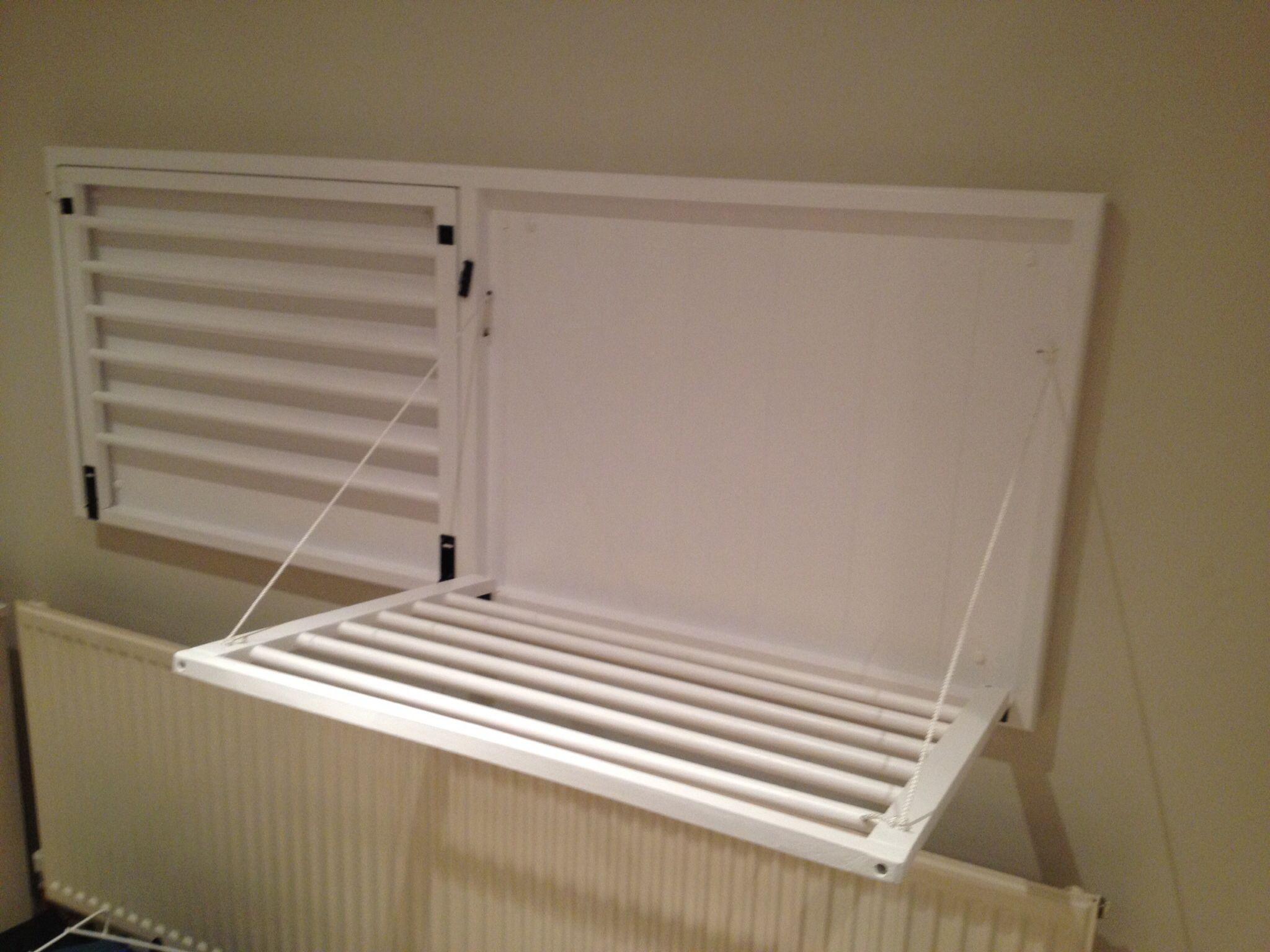 Over radiator drying rack