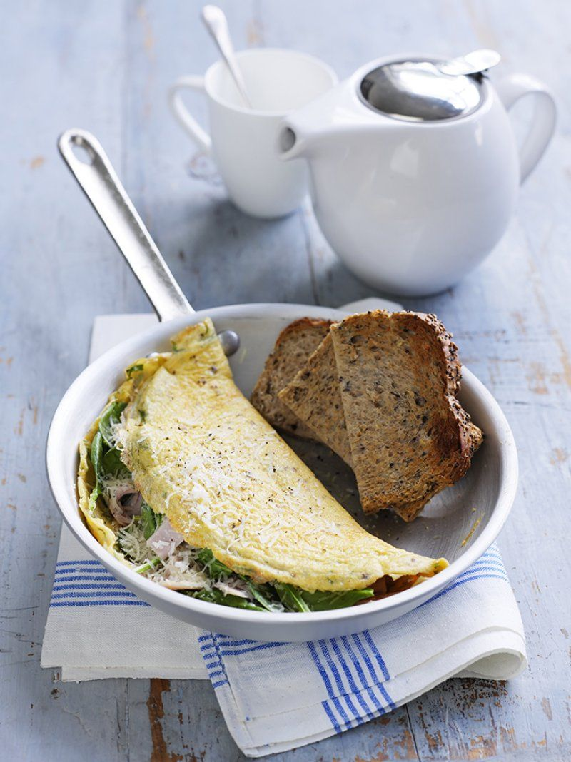 Ham cheese and spinach omelette recipes cake