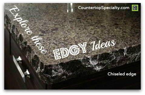 Countertop edges for granite silestone and corian handy