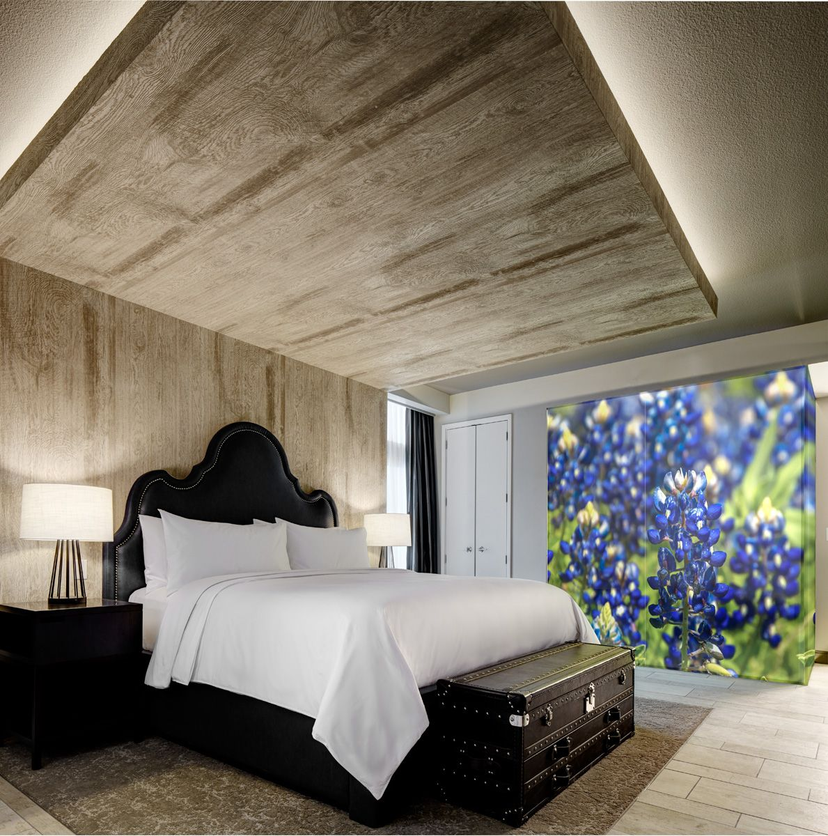 Archer's Den Bedroom Area Archer hotel, West campus, Hotel