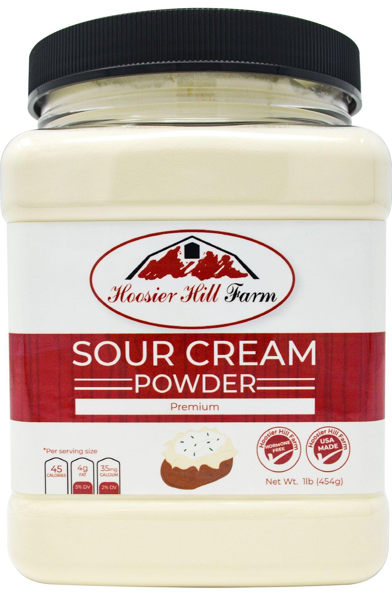 Hoosier hill farm sour cream powder 1 lb in 2020 sour