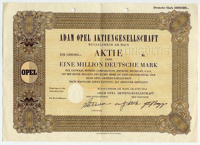 Opel Aktie