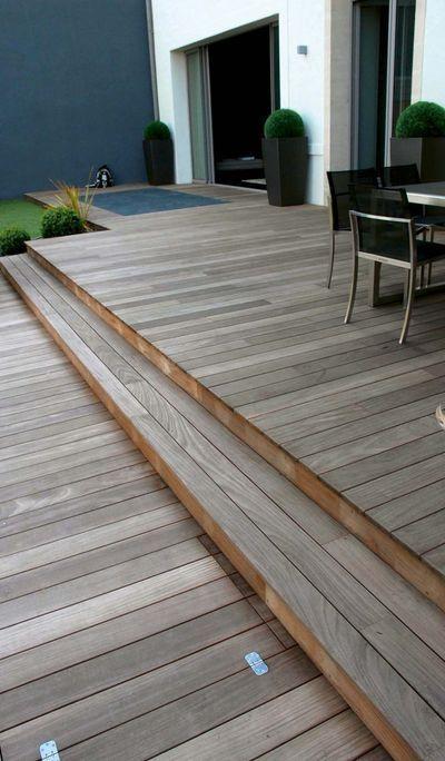 Aménager terrasse en bois  dimensions, revêtements, rénovation - construction terrasse en bois sur parpaing
