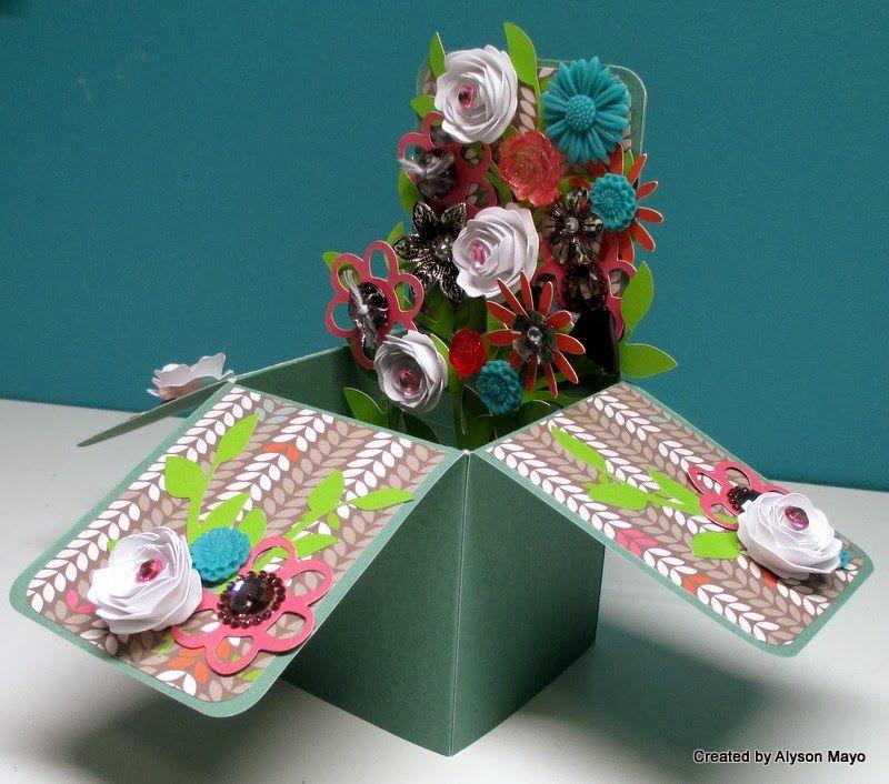 Spring Box Card