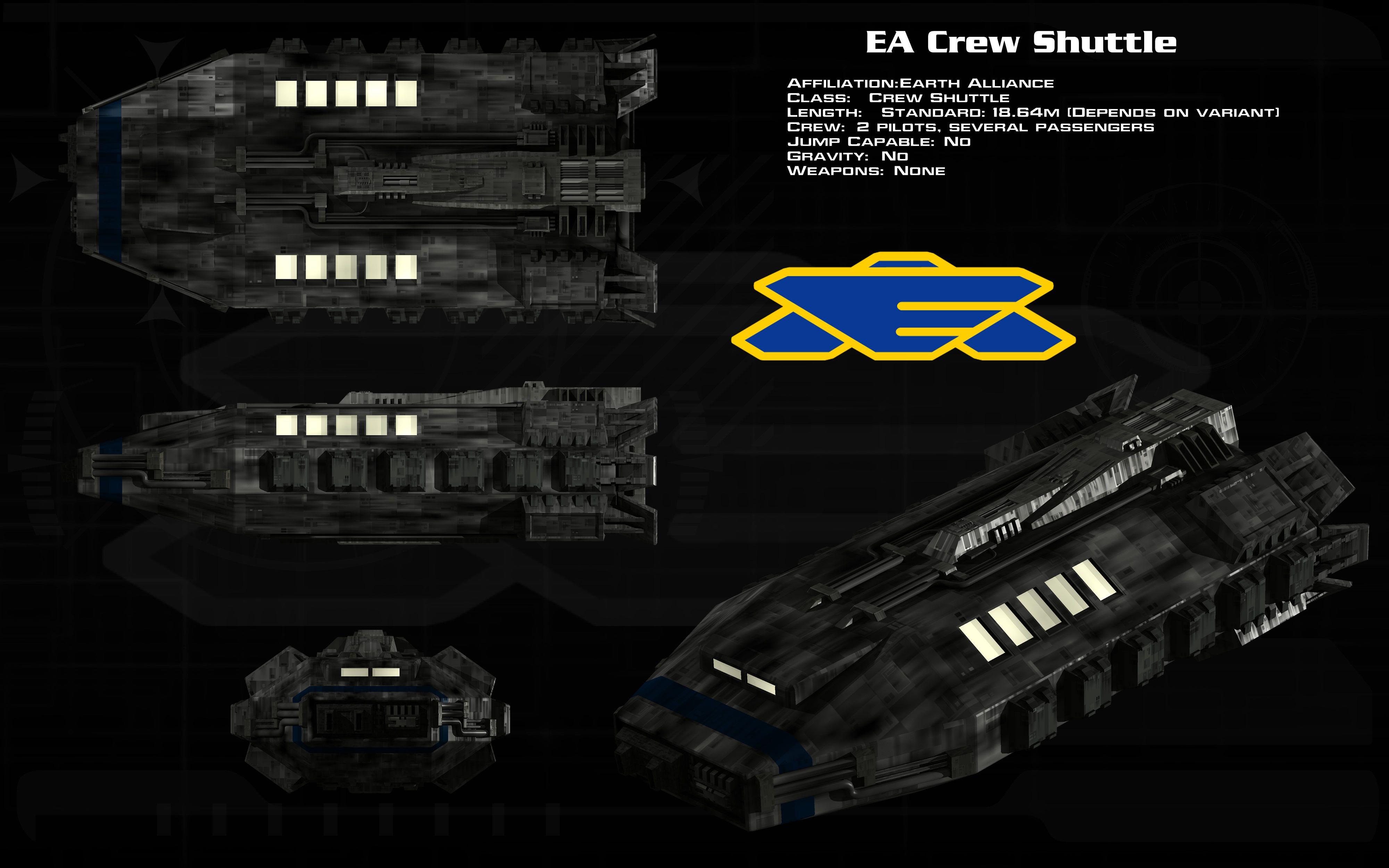 EA Crew Shuttle Ortho By Unusualsuspex.deviantart.com On
