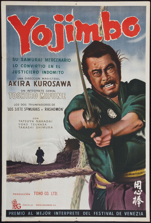 Le Samourai FRIDGE MAGNET Alain Delon 6x8 Magnetic Movie Poster CANVAS Print