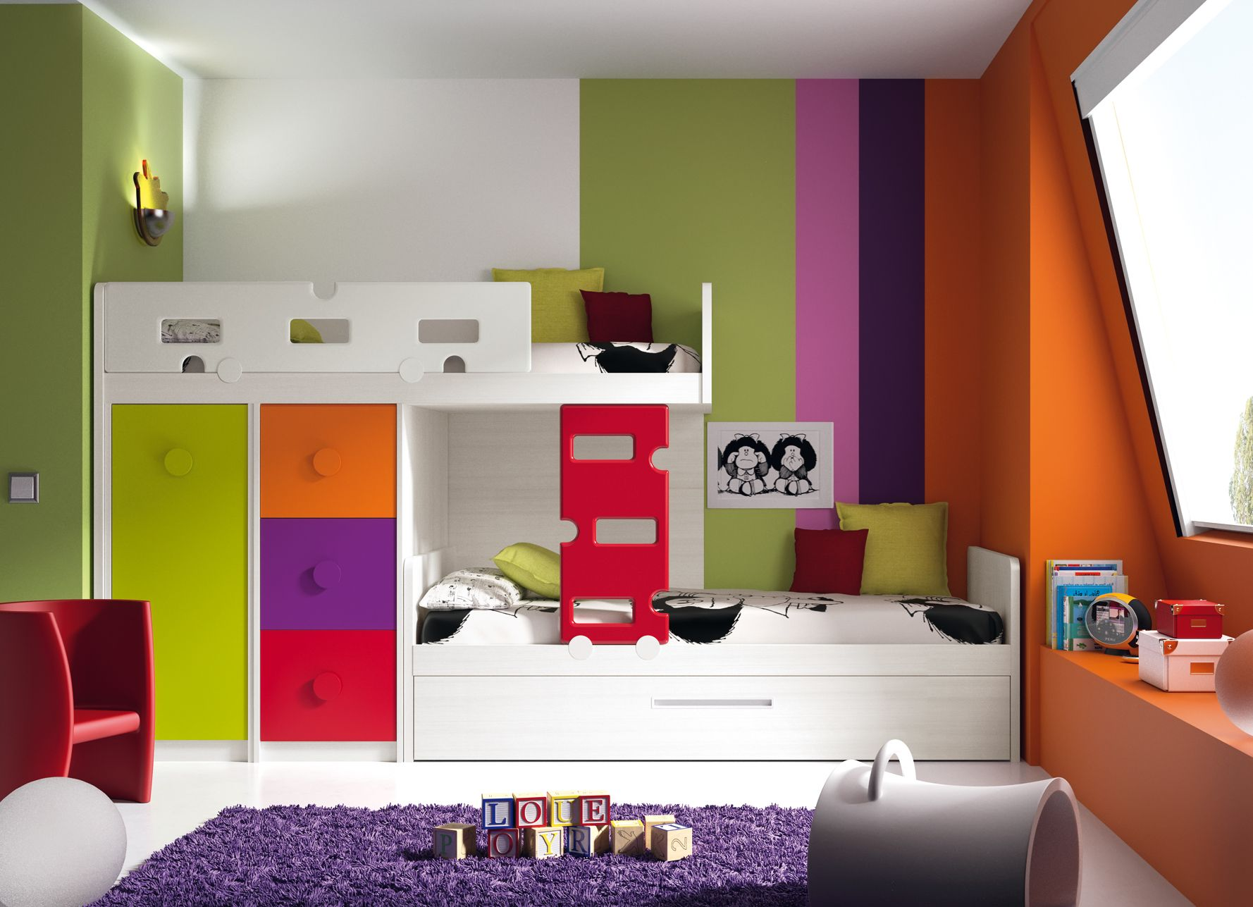 dormitorio de colores decoracin dormitorio decor bedroom