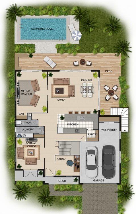 El plano de mi casa casas1 pinterest planos casas y - Plano de mi casa ...