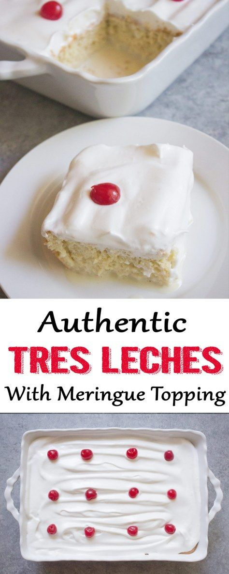 Tres Leches Cake - Coco and Ash