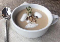 Velouté champignons à la crème au thermomix - la soupe de ...