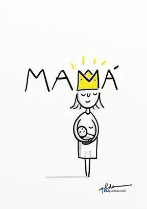 Being A Mum Dibujos Del Dia De Las Madres Dibujo Para Mama Feliz Dia De La Madre