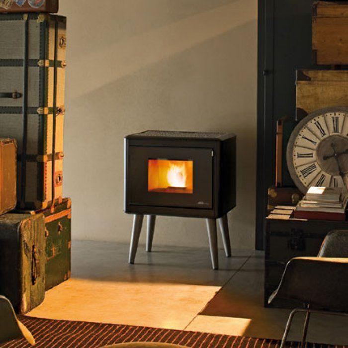 po le pellet kama mcz travaux 2016 pinterest po le maison campagne et d co maison. Black Bedroom Furniture Sets. Home Design Ideas