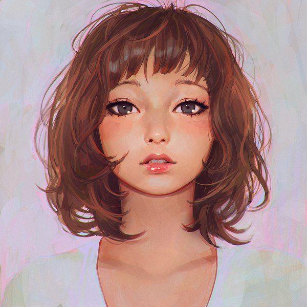 Anime picture original yuran (cozyquilt) single blush