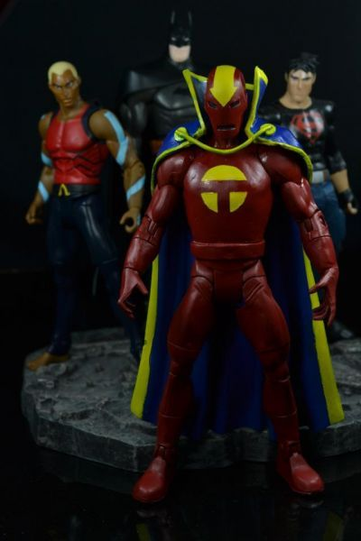 Red Tornado (Young Justice) Custom Action Figure | Action ...