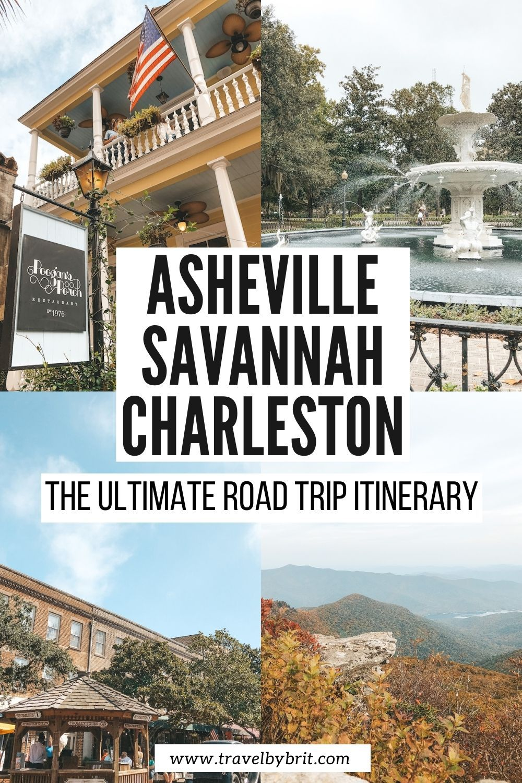 Epic Southeast USA Road Trip - Asheville, Savannah
