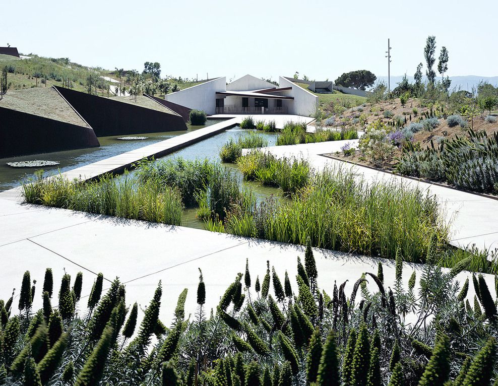 Jard n bot nico de barcelona by oab ferrater asociados for Barcelona jardin botanico