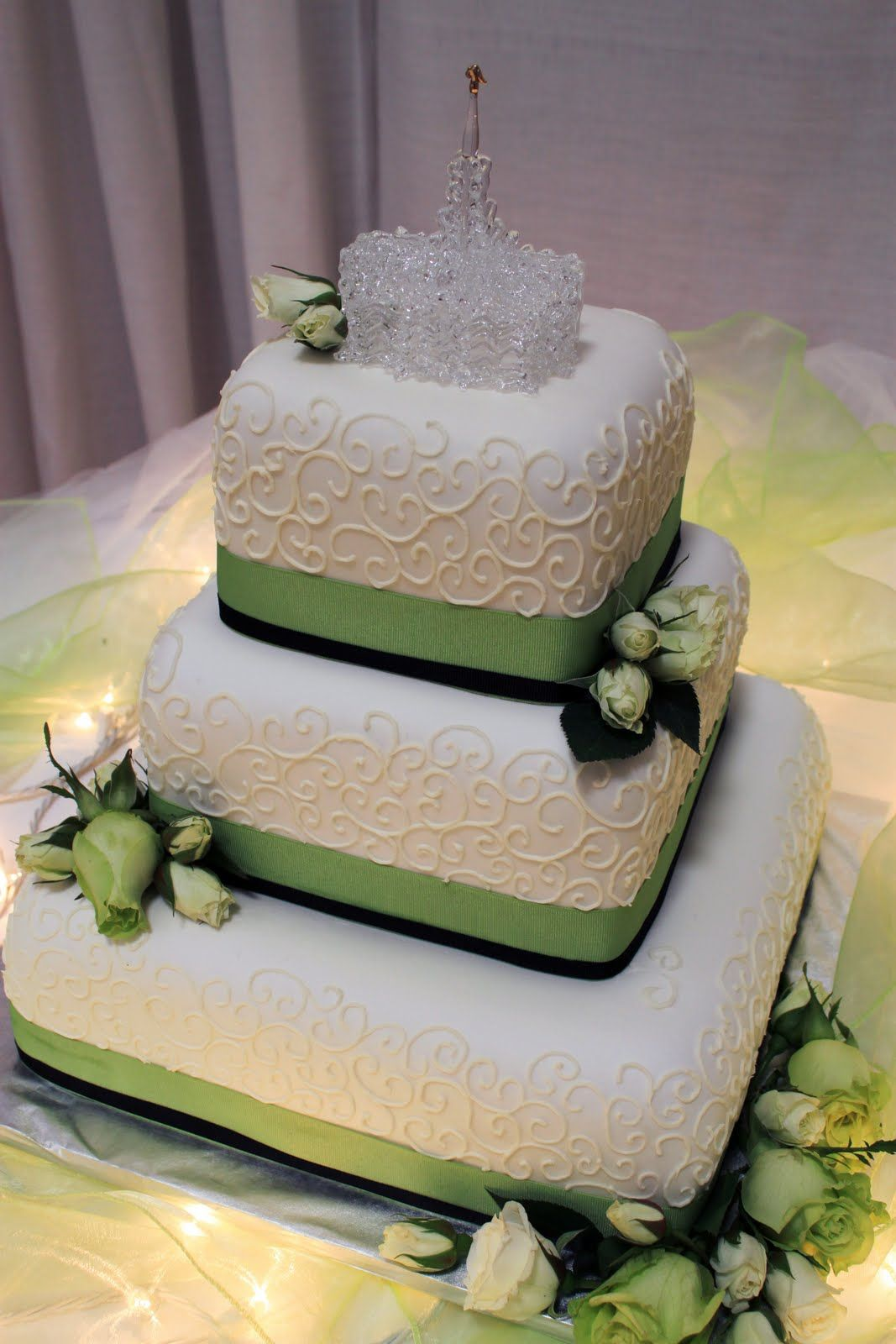 purple and lime green wedding cakes green purple wedding cake layers of lime green 18862