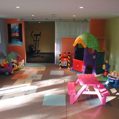 Fun floor tiles, Kids Indoor Play Sets Design, Pictures, Remodel ...