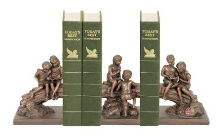 Cute!!      Sterling Home Secret Tree Bookend Trio, 7-Inch Tall: Amazon.com: Home & Kitchen