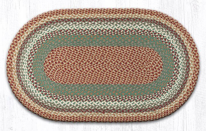 Oval Braided Buttermilk Cranberry Area Rug Oval Braided Rugs Braided Jute Rug Rugs