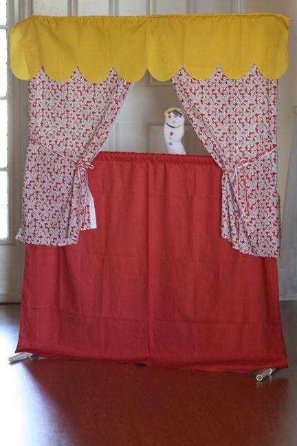 Scrap Happy Heather: Puppet Theater