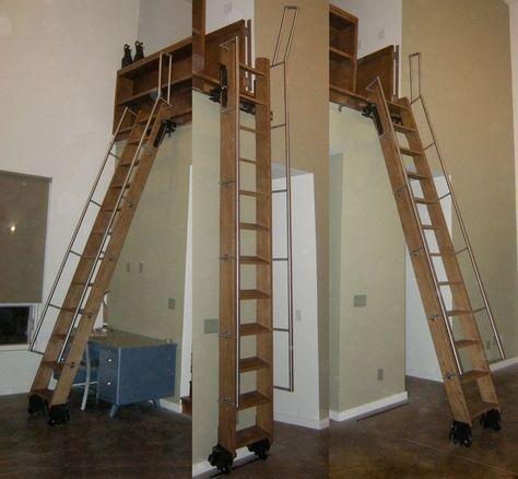 rollingstaircomp72 ideetjes pinterest raumspartreppen dachboden und treppe. Black Bedroom Furniture Sets. Home Design Ideas