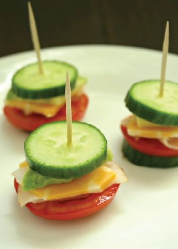Sometimes simplicity is best, as is the case with this cucumber salad snack recipe. It's easy to serve to a crowd, munch on the go at a birthday party, and whip up in no time with the kids.