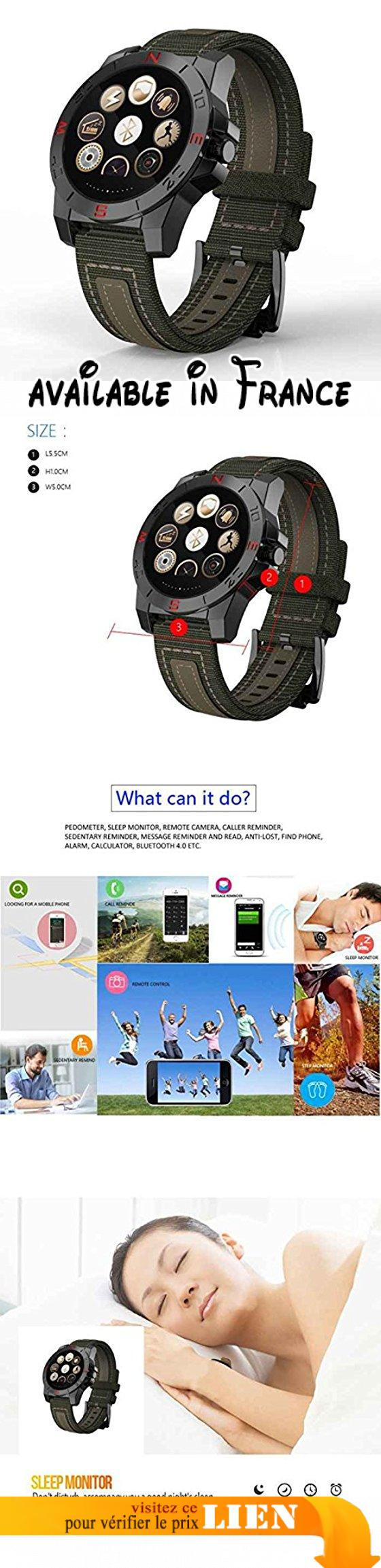 Fitness Health Smartwatch pour iPhone Smartphone Android