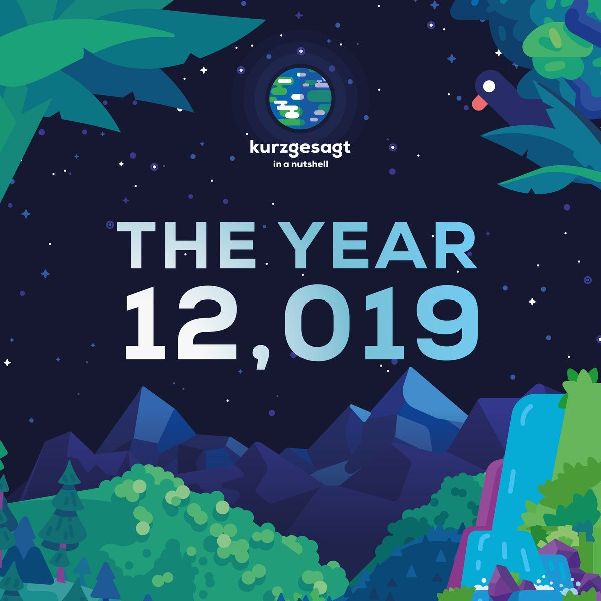In A Nutshell Kurzgesagt Human Era Calendar The 12 019 Human Era Calendar Is Coming Soon Click The Green Button At The Bot In A Nutshell Thing 1 Thing 2 Human