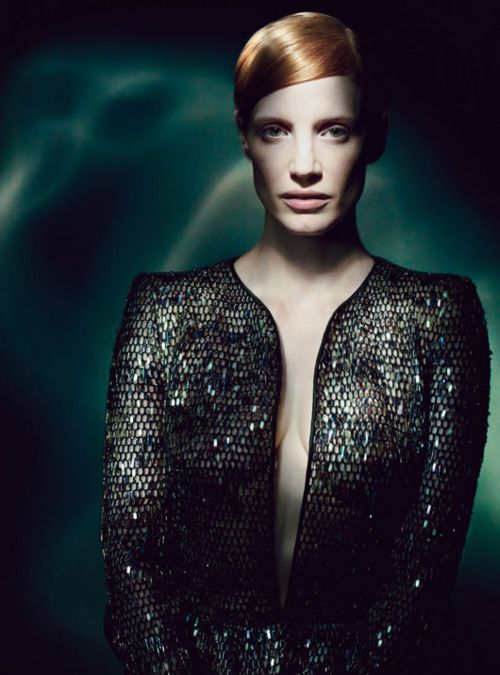 Jessica Chastain | Photography by Paolo Roversi | For W Magazine | May 2012