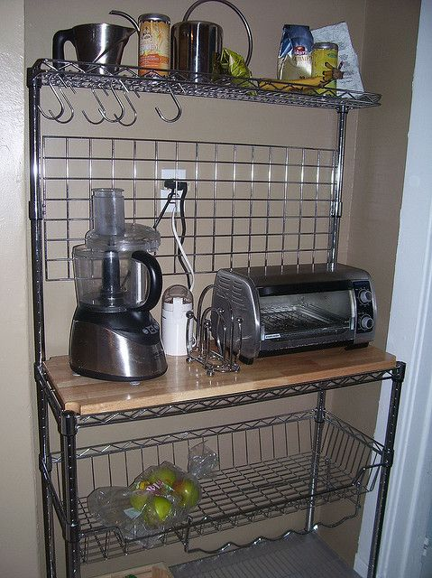 Ideas For Repurposing My Old Bakeru0027s Rack: Possible Coffee Bar? Add Palette  Wood To