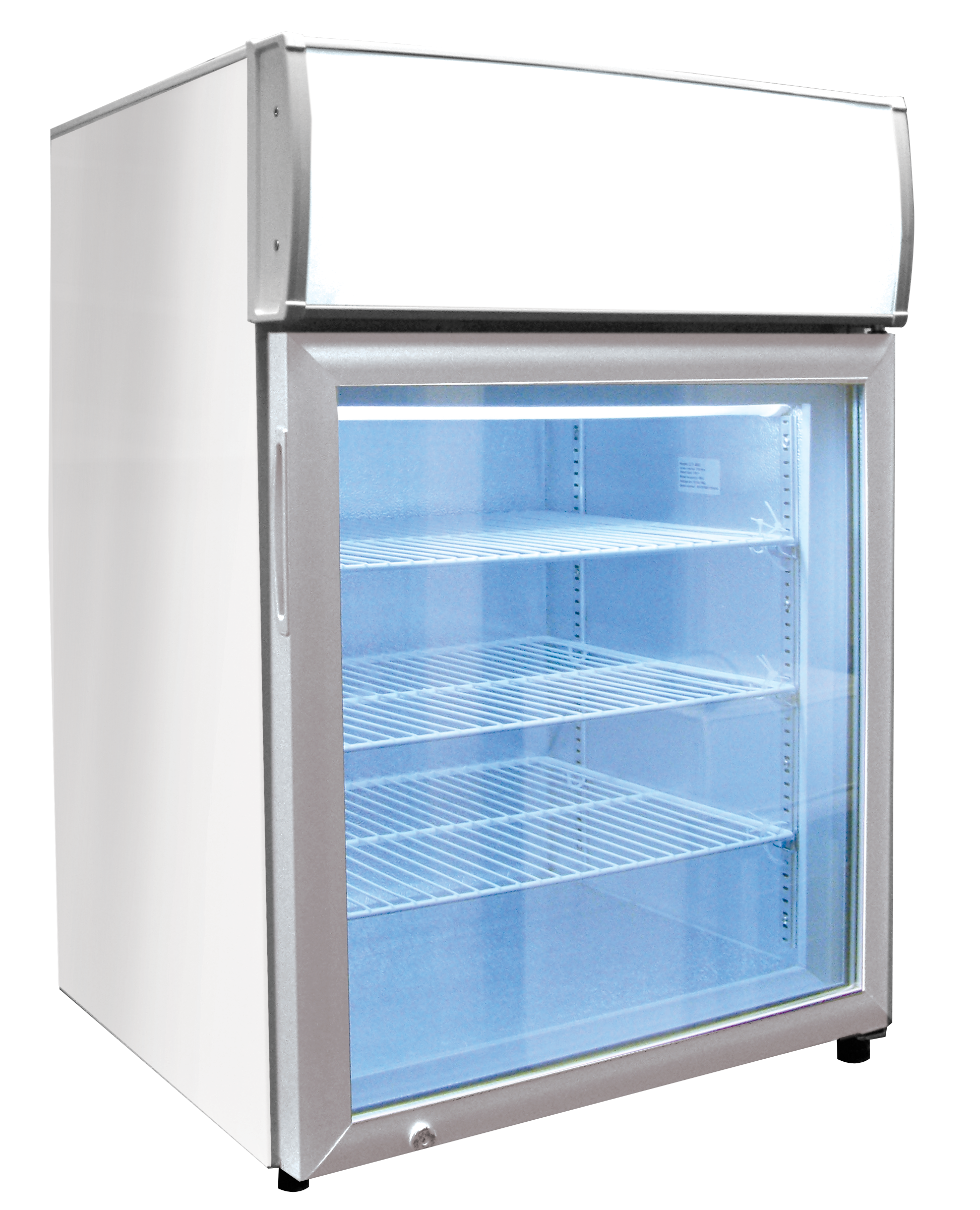 Ctf Ms Countertop Display Freezer With Light Ctf 4ms Shown Comes